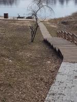 Kāpnes uz Daugavu un veselības takas turpinājums.